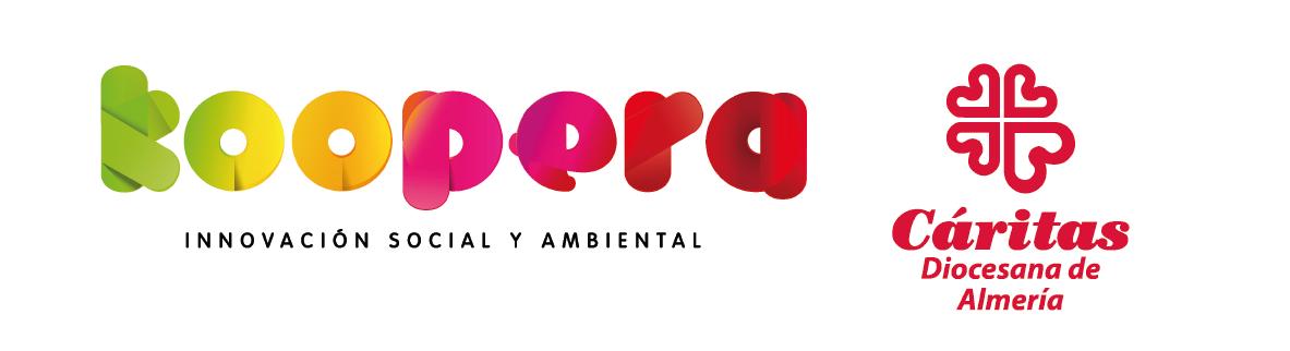 LOGOTIPOS DEFINITIVOS_koopera-caritas_Almeria_hori_01-27